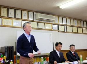田舛事務局長