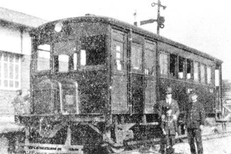 蓮田駅のキハ15