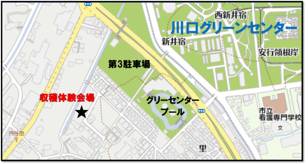 ジャガイモ会場地図