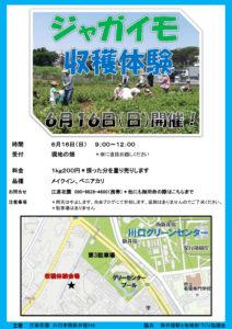 ジャガイモ収穫体験2019