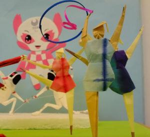 折り紙でアニメーション